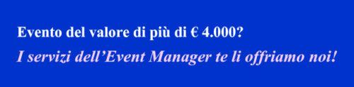 evento più di 4000 Euro